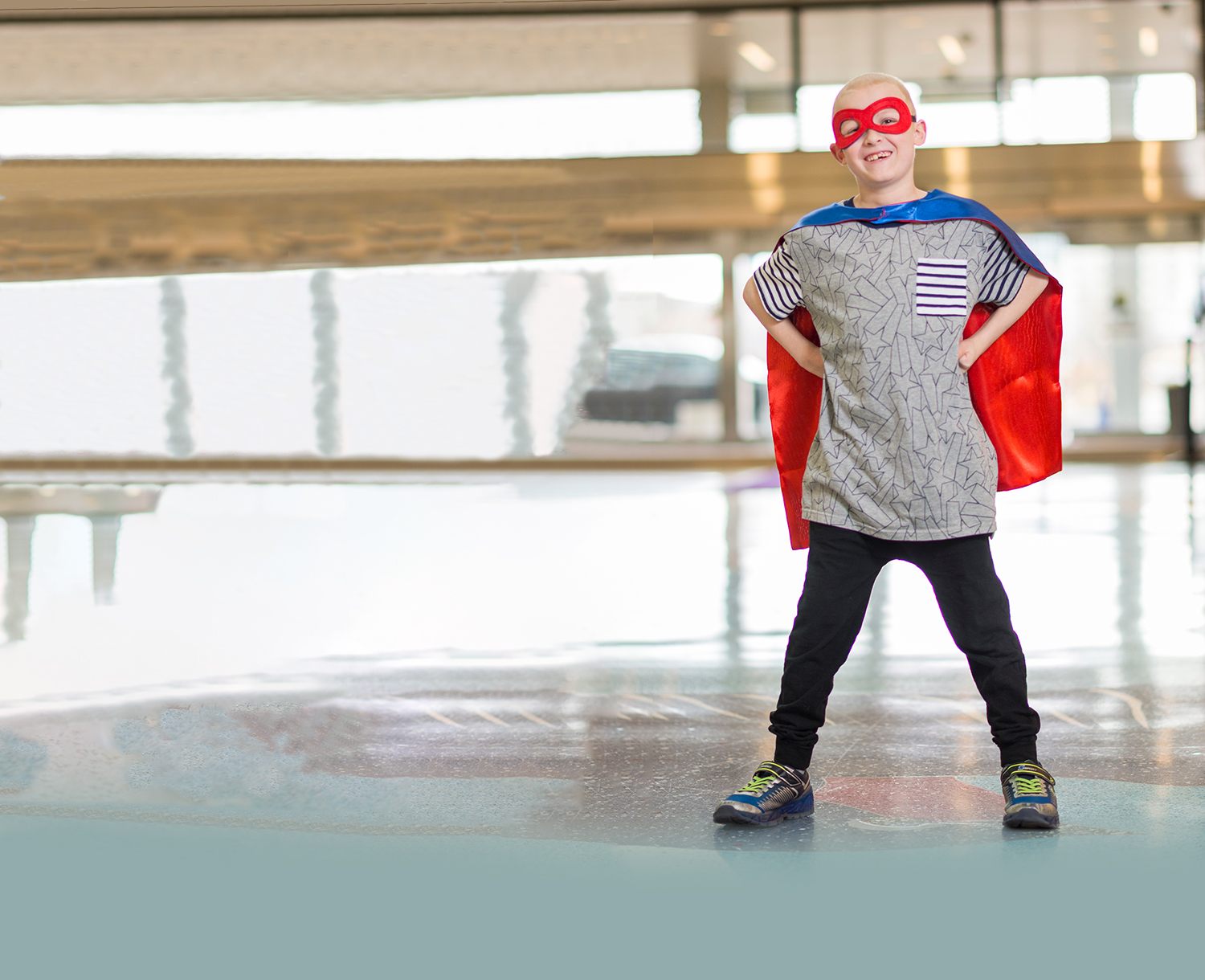Children's Hospital Colorado Superhero Jalen